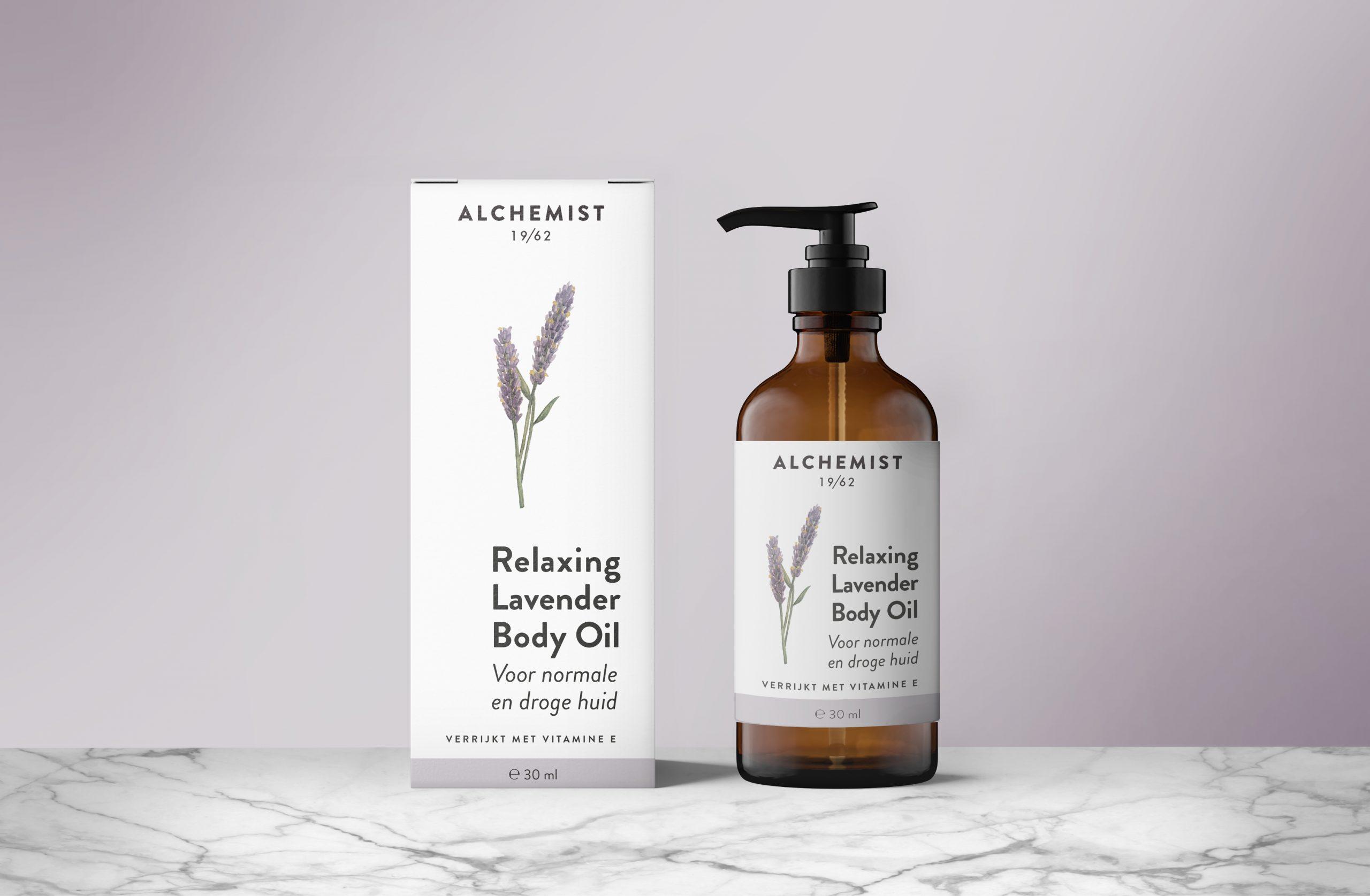 Alchemist Lavender body oil