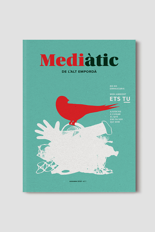 cover design for magazine