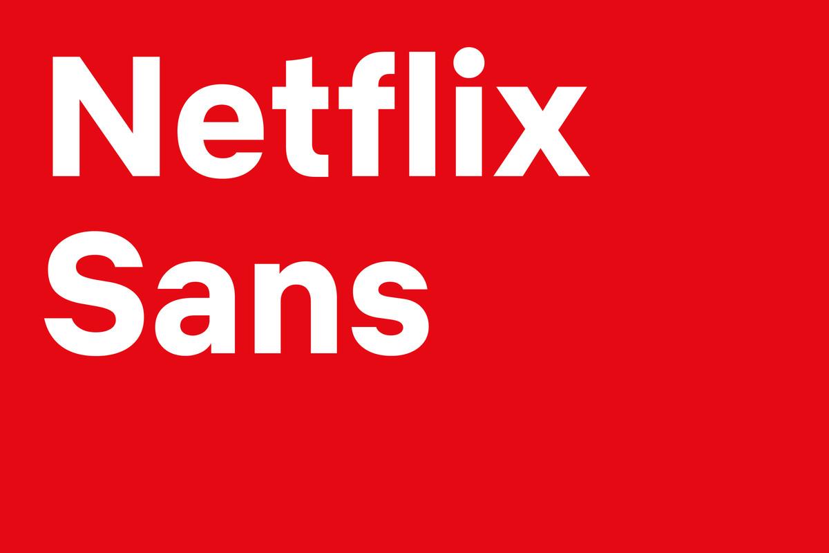 Netflix sans typeface